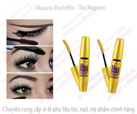 Mascara Maybelline The Magnum