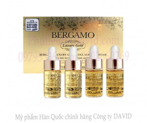 Serum dưỡng da - Bergamo Luxury Gold Collagen & Caviar